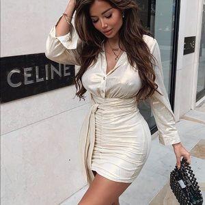 Your Mini Dress - Gold